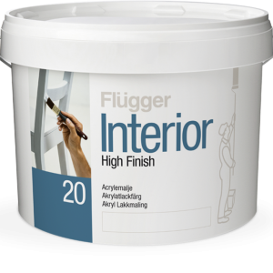Flügger Interior High Finish 20, Farba do drewna